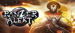 Логотип игры «Panzer Alert»