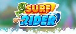 Логотип игры «Surf Rider»