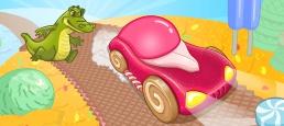 Логотип игры «Сладкая Гонка»