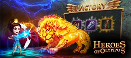 Логотип игры «Олимп»