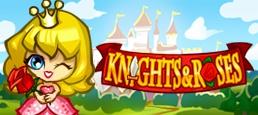 Логотип игры «Рыцари и Розы»