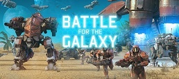 Логотип игры «Битва за Галактику»