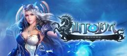 Логотип игры «Шторм Онлайн»