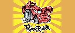 Логотип игры «Paper Racer»